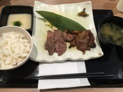 ★牛紋★ 常滑市@常滑イオン 牛タン&とろろ飯