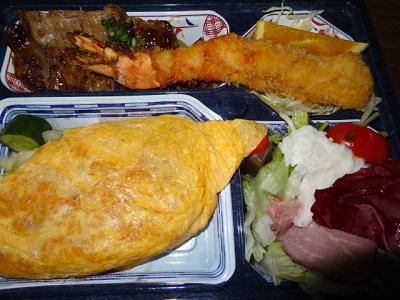 ☆焼肉亭 おぐり☆ 焼肉オムライス弁当