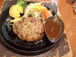★炭火焼ハンバーグ カキヤス★ 東区 ハンバーグ