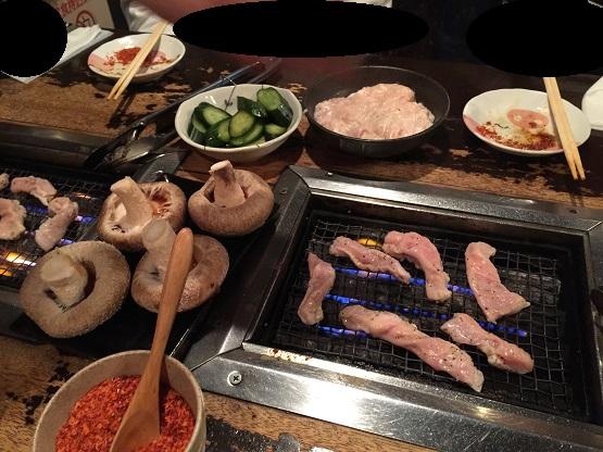中区矢場町駅徒歩5分、がんこちゃんの焼肉ホルモンが美味