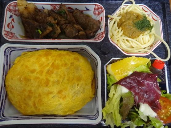 ☆焼肉亭おぐり☆ オムライス弁当