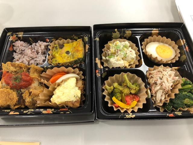 ☆糖質制限弁当☆ 栄養指導学習にて@東京都