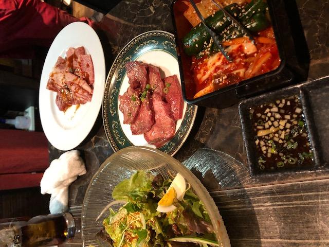 東京都小川町駅近く、アパホテル神保町から徒歩2分ほどの焼肉屋さん一頭は穴場店でした。