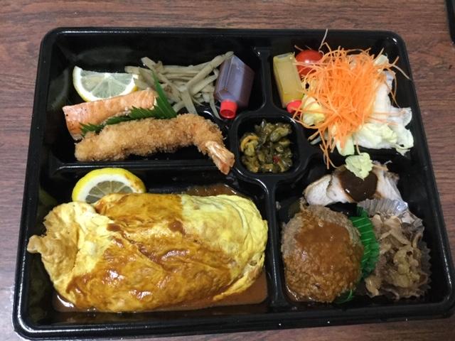 名古屋市中区 キッチン千代田のオムライス弁当はいつ食べても安定のおいしさ