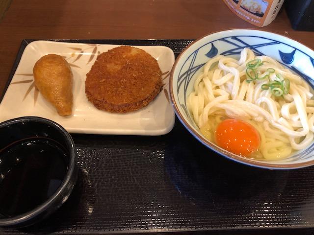 名古屋市中区の丸亀製麺名古屋丸の内店へリベンジ 子連れうどんランチは割引券を持参