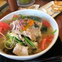 愛知県豊明市のラーメン一刻魁堂でランチ 健康野菜のタンメンを食べながら一刻堂と何が違うのか考えてみた