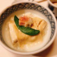 名古屋市中区梅の花栄店での梅の花膳 会席コースのディナー