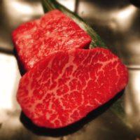 名古屋市中区栄駅から徒歩8分鉄板ダイニング集栄店で神戸牛部位食べ比べ鉄板焼きコース華