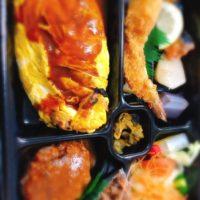 名古屋市中区鶴舞駅、キッチン千代田のお弁当はオムライスが絶品でお店の裏メニューでもある件