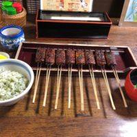 名鉄犬山駅から徒歩10分、菜めし田楽で有名な「松野屋」で犬山名代[定食]ランチ