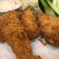 名古屋市瑞穂区役所駅から徒歩4分、ヒルトンの期間限定・冬の味覚牡蠣フライ膳とカツサンドを食べてみた