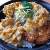 岐阜県土岐市の「土岐よりみち温泉桔梗」で温泉の後のカツ丼を食べて精力満点
