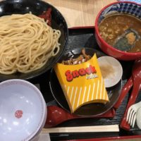 知多郡東浦町のつけ麺専門店 三田製麺所 イオンモール東浦店でつけ麺大盛りを、子供はキッズつけ麺を食べてみた