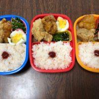 梅干しが苦手な子供のお弁当に日の丸弁当を作ってみた4月20日のお弁当